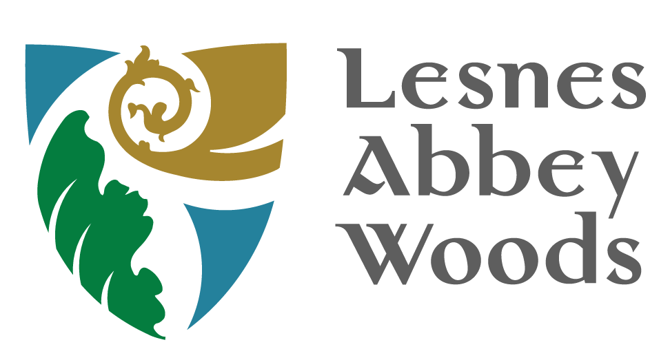 Lesnes Abbey Woods: Space Makers Logo